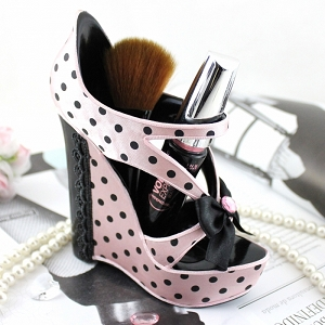High Heel Pen & Brush Holder